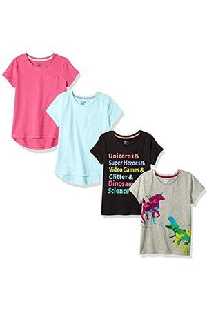 Spotted Zebra Marca Amazon - 4-Pack Short-Sleeve T-Shirts Fashion, M