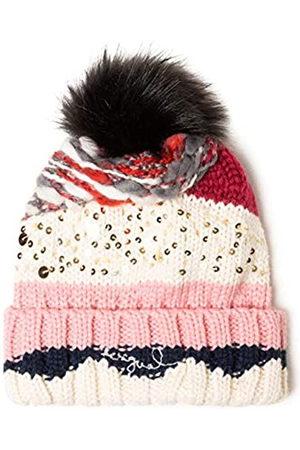 Desigual Hat Brilliant Gorro de Punto, ( Helado 3021)