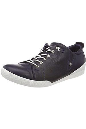 Andrea Conti 0345724, Zapatillas para Mujer, (Dunkelblau 017)