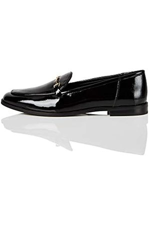 find. Marca Amazon - Snaffle Leather Loafer Mocasines, Black