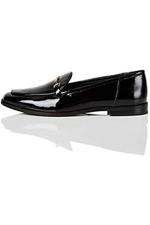 find. Marca Amazon - Snaffle Leather Loafer Mocasines, Black