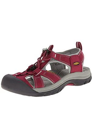 Keen Venice H2 W, Sandalias para Mujer, (Beet Red/Neutral Gray)