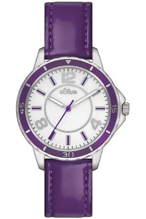 s.Oliver SO-2357-LQ - Reloj analógico de Cuarzo para Mujer