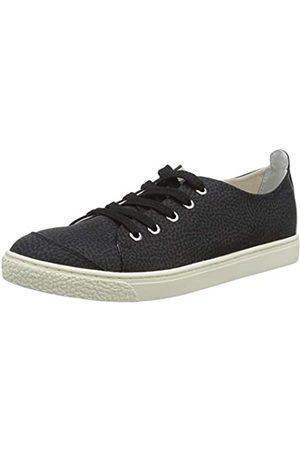 Borbonese Sneakers, Zapatillas de Tenis para Mujer, (Nero 100)