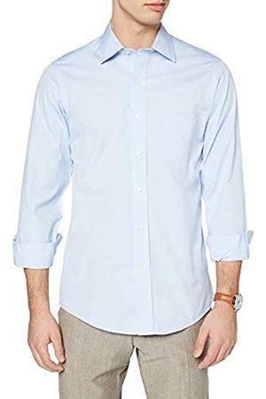 Brooks Brothers Camicia Milano Taschino Manica Lunga Camisa de Oficina