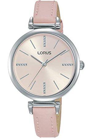 Lorus RelojAnalógicoparaMujerdeCuarzoconCorreaenCuero-PieldeBecerroRG237QX9