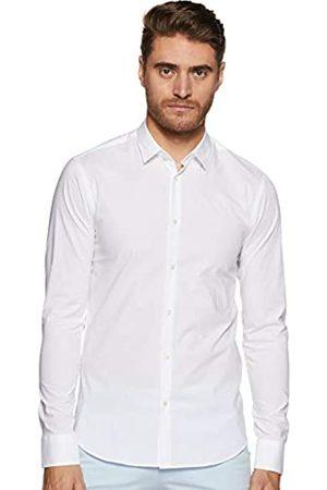 Scotch&Soda Nos Camisa Collar clásico Slim Fit, Hombre