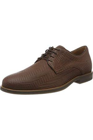 Geox U Bayle B, Zapatos de Cordones Derby para Hombre, (Browncotto C6003)
