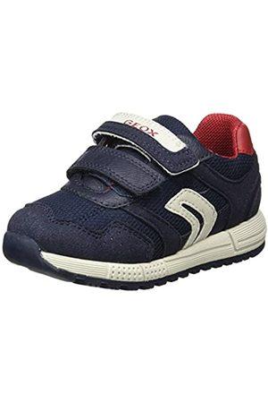 Geox B Alben Boy A, Zapatillas para Bebés, (Navy/Red C0735)