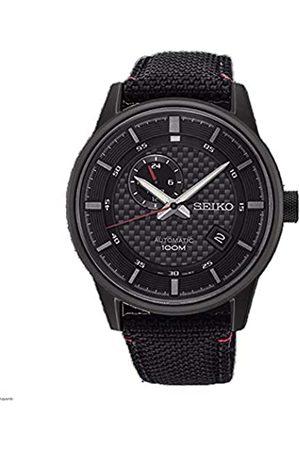 Seiko Reloj Analogico para Hombre de Automático con Correa en Nailon SSA383K1