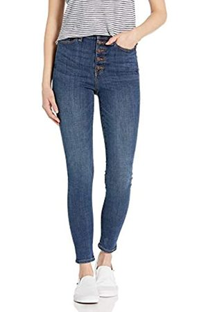 Goodthreads Exposed-Fly High-Rise Skinny Jeans, Resin Dark Fade