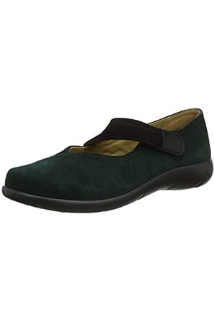 Hotter WREN, Merceditas para Mujer, (Forest Green/Black 360)