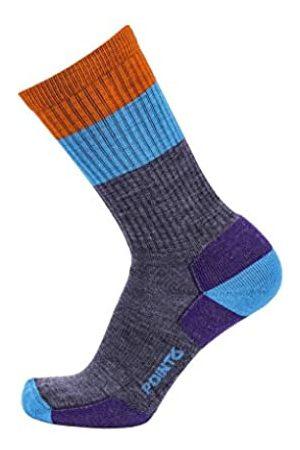 Desconocido Unknown - Calcetines de Senderismo para Hombre, diseño de Rayas, Hombre, Calcetines, POIN-112561200L