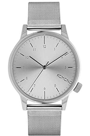 Komono Reloj Analógico de Cuarzo Unisex con Correa de Acero Inoxidable – KOM-W2350