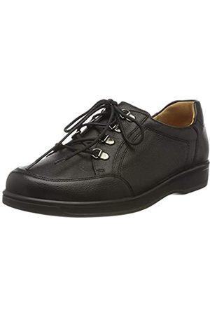 Ganter Sensitiv Karin-k, Zapatos de Cordones Derby para Mujer, (Schwarz 0100)