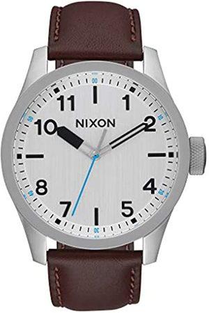 Nixon Reloj Analógico para Hombre de Cuarzo con Correa en Cuero A975-1113-00