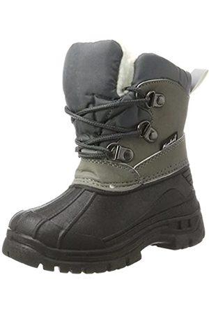 Playshoes Zapatos de Invierno Boots, Botas de Nieve Unisex Niños, (Grau 33)