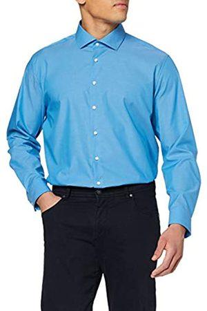 Seidensticker Einfarbiges, Schickes Hemd Mit Extra Tragekomfort Und Kent-Kragen – Slim Fit – Langarm Camisa
