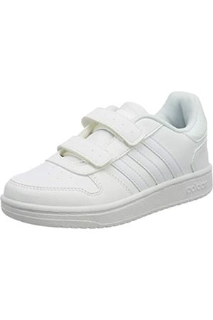 adidas Hoops 2.0 CMF C, Zapatillas de básquetbol Unisex Niños, FTWR White/FTWR White/FTWR White