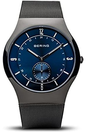 Bering Reloj Analógico para Hombre de Cuarzo con Correa en Acero Inoxidable 11940-227