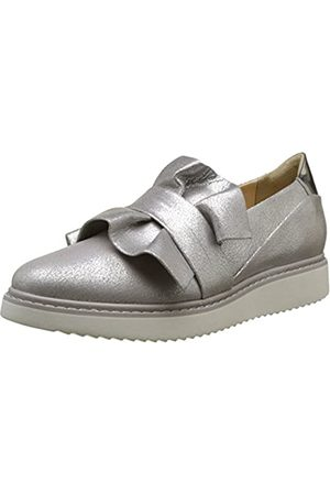 Geox D Thymar D, Mocasines para Mujer, (Silver)