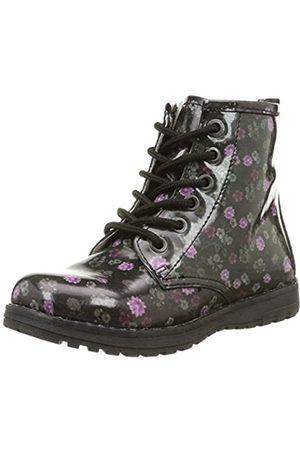 Primigi Ariel - Zapatos de Cordones de Material sintético para niña Noir (Nero/ ) 25