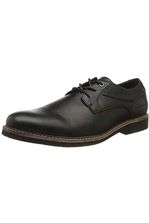 TOM TAILOR 7981101, Zapatos de Cordones Derby para Hombre, (Black 00001)