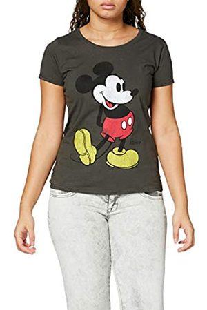 Disney Mickey Mouse Classic Kick Camiseta de Manga Corta con Cuello Redondo
