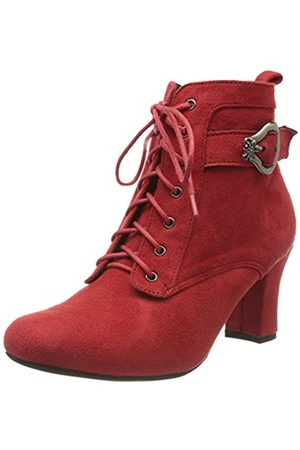 Hirschkogel by Andrea Conti 3000503, Botines para Mujer, (Rot 021)