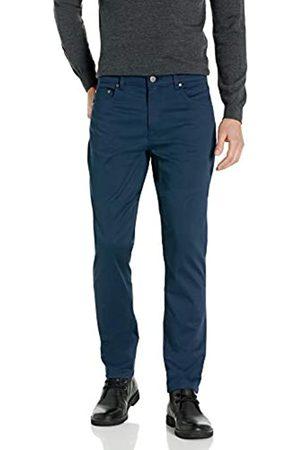 Buttoned Down Pantalón Chino de Sarga elástico de 5 Bolsillos, fácil de cuidar. Casual-Pants
