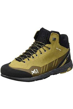 Millet AMURI Leather Mid Dry M, Zapatos de High Rise Senderismo para Hombre, Castanp (Olive 8781)