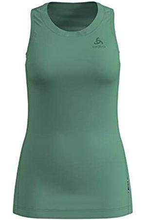 Odlo BL Top Crew Neck Singlet Natural Light Camiseta, Mujer