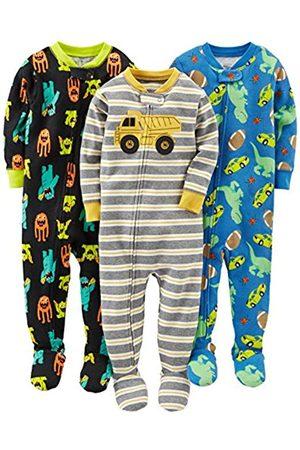 Simple Joys by Carter's Pijama de algodón para bebés y niños pequeños, 3 unidades