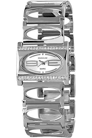 Excellanc 0 - Reloj de Cuarzo para Mujer, con Correa de Diversos Materiales