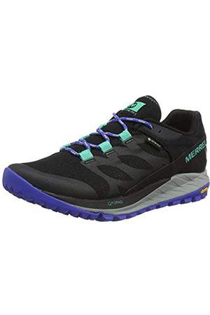 Merrell Antora Gore-Tex, Zapatillas de Running para Asfalto para Mujer, (Black/Dazzle)