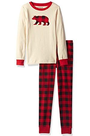 Hatley Little Blue House by Long Sleeve Appliqué Pyjama Sets Conjuntos de Pijama