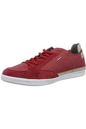 Geox U Walee A, Zapatillas para Hombre, (Red C7000)