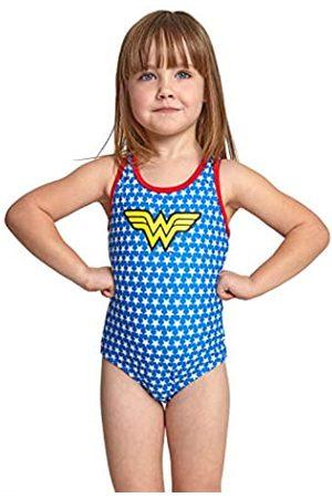 Zoggs Wonder Woman Actionback Traje de baño de una Pieza, niña