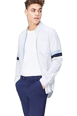 FIND Camisa Óxfordde Corte Entallado para Hombre