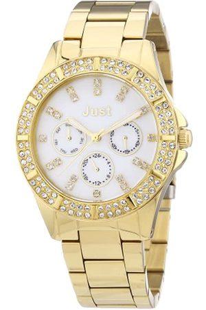 Just Watches 48-S9059WH-GD - Reloj analógico de Cuarzo para Mujer