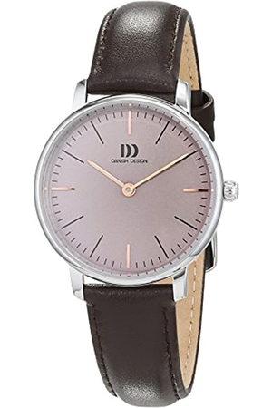 Danish Design Reloj Analogico para Mujer de Cuarzo con Correa en Cuero IV18Q1175