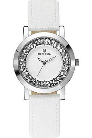 ORPHELIA Reloj Analogico para Mujer de Cuarzo con Correa en Cuero OR11700
