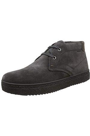 Stonefly Voyager Velour Shade, Zapatos de Cordones Derby para Hombre, (Forged Gray 07x)