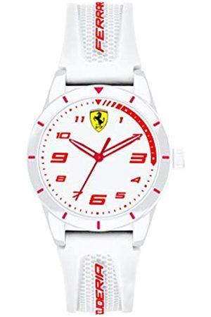 Scuderia Ferrari Reloj Analógico para Unisex niños de Cuarzo con Correa en Silicona 0860011