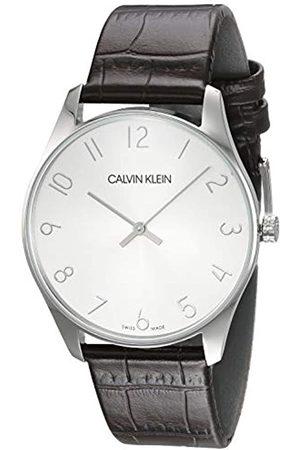 Calvin Klein K4D211G6 - Reloj de Pulsera Hombre, Cuero