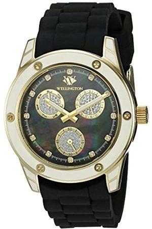 Daniel Wellington WN506-222A - Reloj analógico de Cuarzo para Mujer con Correa de Silicona