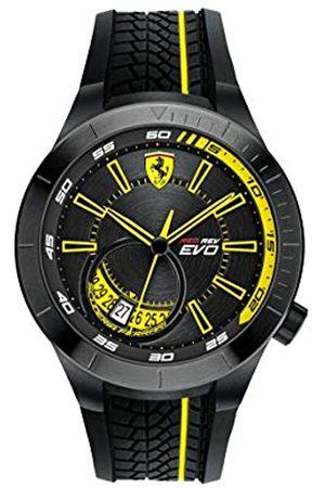 Scuderia Ferrari Reloj Analógico para Hombre de Cuarzo con Correa en Caucho SF0830340