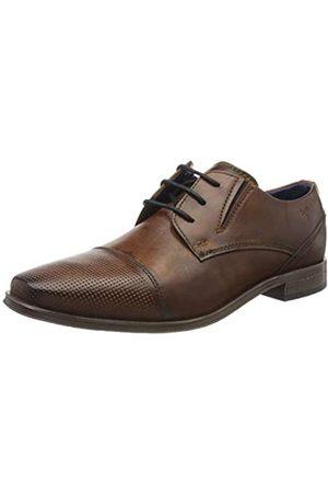 Bugatti 311909023500, Zapatos de Cordones Derby para Hombre, (Brown 6000)