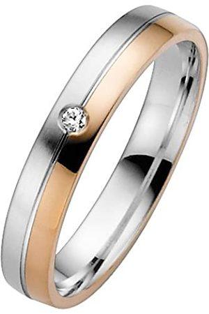 Trauringe Liebe hoch zwei TrauringeLiebehochzwei-Anillodeorobicolorde8quilatescondiamante(.02)talla18(1847mm)