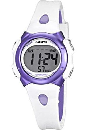 Calypso Girl 's Reloj Digital con Pantalla LCD Pantalla Digital Dial y Correa de plástico k5609/2